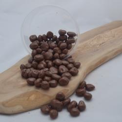 Rozijnen melkchocolade 225g